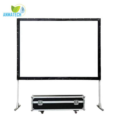 Fast Fold Screen Larger Room Front Rear Stand Projector Screen 16:9 150 Inch