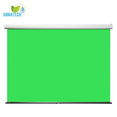 "108"" H x 108"" W Manual Pull-Down Green Screen"