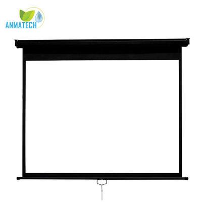Projection Manual Screen 4:3 Ratio Aluminum Case Auto-lock Projector Screen MS Model