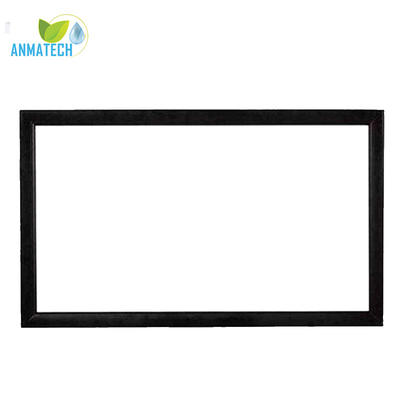 Fixed Frame Projector Screen Perfect Flat Surface Ease Of Installation HD Cinema